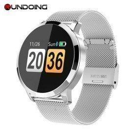 Rundoing Q8 Smart Watch Oled Color Screen Smartwatch Women Fashion Fitness Tracker Heart Rate Monitor Rundoing/hoodmat.com