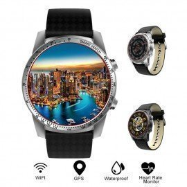 Kingwear Kw99 3G Smartwatch Phone Android 5.1 Mtk6580 Quad Core 8Gb Rom Heart Rate Monitor Pedometer Gps Anti-Lost Smart Watch 696/hoodmat.com