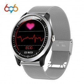 N58 Ecg Ppg Smart Watch With Electrocardiograph Ecg Display Holter Ecg Heartrate Monitor Blood Pressure Women Smart Bracelet 696/hoodmat.com