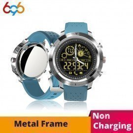 Smart Clock Nx02 Fashion Men Ip68 Waterproof Wristwatch Bluetooth 4.0 Sports Pk Fitbit Xiaomi 696/hoodmat.com