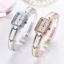 Luxury Brand Bracelet Watches Women Stainless Steel Wristwatches Ladies Dress Quartz Watches Clock Montre Femme Hodinky 2018 Jw Wristwatches/hoodmat.com