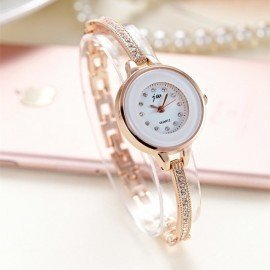 Korean Style Ladies Quartz Watches Fashion Women Wristwatches Bracelet Bangle Luxury Best Gift Fit Party Women Dress Watch Ac077 Jw Wristwatches/hoodmat.com