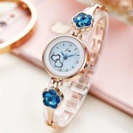 New Fashion Rhinestone Watches Women Luxury Stainless Steel Quartz Watch Women Dress Bracelet Watches Ladies Clock Relojes 2018 Jw Wristwatches/hoodmat.com