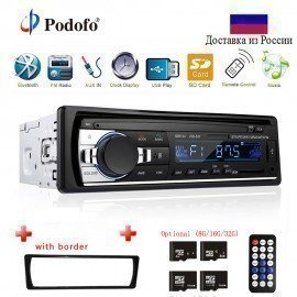 Autoradio Jsd-520 12V In-Dash 1 Din Bluetooth Car Radios Sd Mp3 Player Auto Audio Stereo Fm Receiver Aux Input  Podofo /hoodmat.com