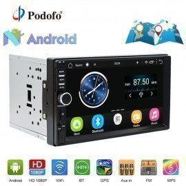 2Din Car Radio Stereo Android Gps Navigation 7&Quot;1024*600 Universal Car Player Wifi Bluetooth Usb Radio Audio Player No Dvd Podofo /hoodmat.com