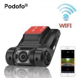 Novatek 96658 Wifi Hidden Car Dvr Mini Camera Registrator Dash Cam Fhd 1080P Wdr Night Vision Digital Video Recorder  Podofo /hoodmat.com