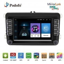 2 Din Car Stereo Radio 7 Inch Android Gps Navigation Hd Autoradio Mp5 Multimedia Player For Iso /Android Mirror Link  Podofo /hoodmat.com