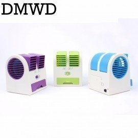 Mini Cooling Fan Portable Desktop Usb Small Air Conditioner Fans Cooling Desk Conditioning Cooler Summer Ventilador Gift JessS Mommy/hoodmat.com