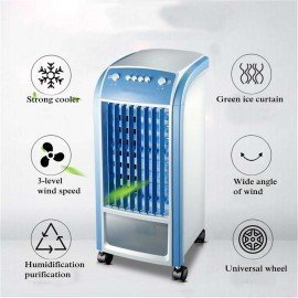 Portable Air Cooler Unit 4L 80W &Amp; Remote Control Flow Swing Conditioning Fan Home Evaporative Air Cooler Air Conditioning Fan Make It Happen/hoodmat.com