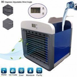 Mini Electric Air Cooler For Room Portable Air Conditioner Fan Digital Air Conditioning The Quick &Amp; Easy Way To Cool Any Space Ai H0Me Appliances /hoodmat.com