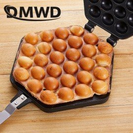 Qq Egg Bubble Cake Baking Pan Mold Eggettes Iron Aluminum Hongkong Waffle Maker Mould Non-Stick Coating Diy Muffins Plate JessS Mommy Appliance/hoodmat.com