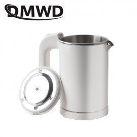 Dual Voltage Travel Water Heating Boiler Mini Electric Kettle Cup Heater Portable Camping Stainless Steel Teapot 110V-220V JessS Mommy Appliance/hoodmat.com