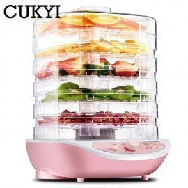 Dried Fruit Vegetables Herb Meat Machine Household Mini Food Dehydrator Pet Meat Dehydrated 5 Trays Snacks Air Dryer Eu Us JessS Mommy Appliance/hoodmat.com