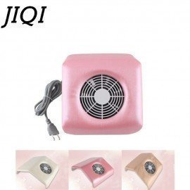 Nail Salon Suction Dust Collector Mini Filing Acrylic Uv Gel Tip Machine Manicure Vacuum Cleaner Eu Plug 110-120V 220-240V JessS Mommy Appliance/hoodmat.com