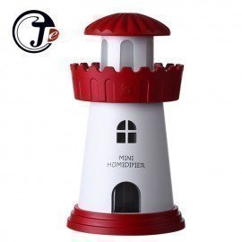 Fashion Lighthouse Led Ultrasonic Humidifier Mist Maker Fogger Usb Humidifiers Air Freshener Aroma Diffuser Lamp Home Appliances Je J. Cotton. Design/hoodmat.com