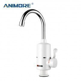 Instant Electric Water Heater Bathroom/Kitchen Electric Hot Water Tap Hot Cold Dual-Use Faucet Tankless 3000W Ewh-05 Animore/hoodmat.com