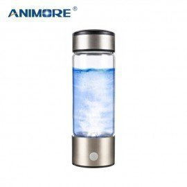 Portable Rich Hydrogen Water Bottle Usb Rechargeable Rich Hydrogen Water Generator Electrolysis Water Ionizer Animore/hoodmat.com