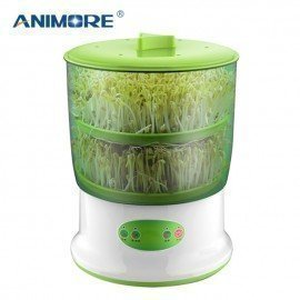 Bean Sprouts Maker Upgrade Large Capacity Thermostat 220V Bean Sprout Machine Household Automatic Sprout Machine Animore/hoodmat.com