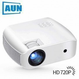 Led Projector F10, 1280X720 Resolution, 2800 Lumens,Mini Projector For Home Cinema,Support 1080P,Smart 3D Beamer,C80 Upgrade Aun/hoodmat.com