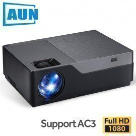 Full Hd Projector, 1920X1080 Resolution. Led Projector Support Ac3. Home Theater. 5500 Lumens. (Optional Android Wifi) M18 Aun/hoodmat.com