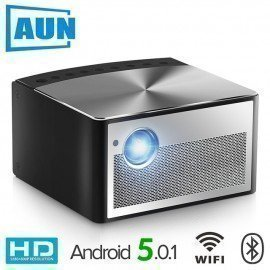 Smart Projector H1, 1300 Ansi Lumens. Memory: 2G+16G. Build In Android, Wifi, Hd In. Mini Led Projector. 1080P Home Theater Aun/hoodmat.com