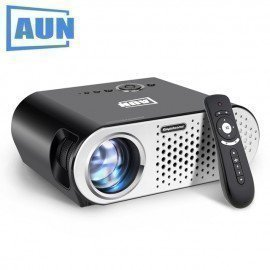 Projector 3200 Lumen T90, 1280*768 (Optional Android Projector With 2.4G Air Mouse, Bluetooth Wifi, Support Ac3) Led Tv Aun/hoodmat.com