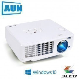 Windows10 Projector, Ubeamer1S, 3Lcd Projector, 4000 Lumens, 1024X768. Set In Wifi,Bluetooth, Hd In. (Optional Ubeamer1) Tv Aun/hoodmat.com