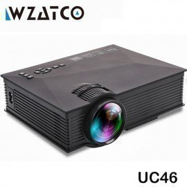 Uc46 Wifi Wireless Mirror Miracast 1200Lumen Hd Digital Multimedia Led Mini Pocket Projector Proyector Projetor Beamer Wzatco/hoodmat.com