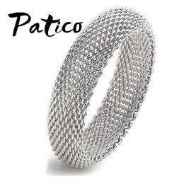 Genuine Fine 925 Sterling Silver Link Charming Jewelry Bracelet Bangles 1.5Cm Width Patico/hoodmat.com