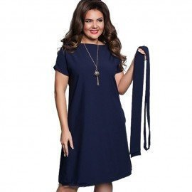 6Xl Sexy Party Plus Size Maxi Straight Solid Dresses With Belt Elegant Ladies Women Dress Loose Large Sizes Slim Office Vestidos Somelikewho.Os/hoodmat.com