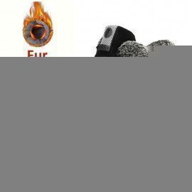 Men Snow Boots Plus Size 46 New Men Boots With Fur Unisex Winter Snow Botas Warm Plush Shoes High Top Boots Autumn Jichi/hoodmat.com