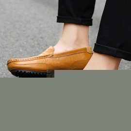 2019 New Spring Casual Shoes Men Leather Loafers Driving Shoes Moccasins Summer Fashion MenS Casual Shoes Breathable Lazy Flats Jichi/hoodmat.com