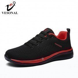 2019 New Comfortable Mesh Men Shoes Casual Lightweight Breathable Walking Male Sneakers Tenis Feminino Zapatos Vesonal/hoodmat.com
