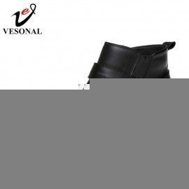 2017 Autumn Winter Warm Fur Ankle Chelsea Boots Men Shoes Male Business Casual Genuine Leather Quality Slip On Boot Man Vesonal/hoodmat.com