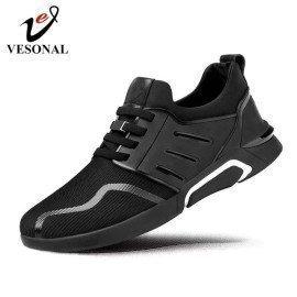 2019 Comfortable Breathable Mesh Men Shoes Casual Lightweight Walking Male Sneakers Tenis Feminino Footwear S008 Vesonal/hoodmat.com
