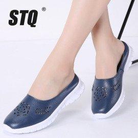 2019 Summer Shoes Slippers Women Lazy Ballet Flat Sandals Shoes Slip On Comfortable Cut-Outs Slides Sandals Flip-Flops 7733 Stq/hoodmat.com