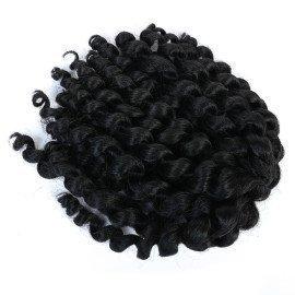 8&Quot; Braiding Hair Crochet Braids Hair For Women Jumpy Wand Curl Twist Jamaican Bounce Synthetic Braiding Hair  Shangke/hoodmat.com