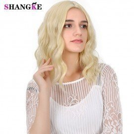 14&Quot; Short Curly Hair Wig Women Lady Daily Costume Cosplay Wig Natural Black Synthetic Heat Resistant Shangke/hoodmat.com