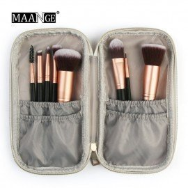 Professional Portable Cosmetic Makeup Brush Bag Fashion Marble Case Beauty Brush Bag Makeup Brush Storage Bag Shangke/hoodmat.com