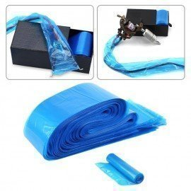 100Pcs/Pack Disposable Blue Tattoo Clip Cord Sleev..