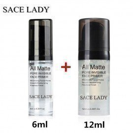 Sace Lady 6Ml+12Ml Cosmetic Facial Cream Face Base Hydrating Makeup Primer Liquid Natural Long Lasting Nude Foundation Shangke/hoodmat.com