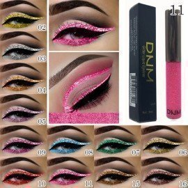 16 Colors 36H Liquid Eyeliner Waterproof Black Makeup Long-Lasting Easywear Eye Liner Pen Bright Shining Cosmetic Shangke/hoodmat.com