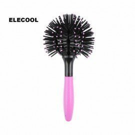 3D Bomb Hair Brush 360 Degree Ball Curling Curler ..