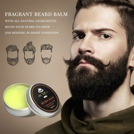 Men Beard Growth Enhancer Facial Nutrition Moustache Grow Beard Balm/Beard Oil Beard Shaping Care Anti Hair Loss Products Tslm2 Shangke/hoodmat.com