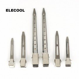 Stainless Steel Hairdressing Clips Sectioning Duck Hair Grip Clamps Salon Hairstyle Tools Accessories 3Sizes Optional Shangke/hoodmat.com