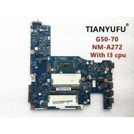 Brand New  Aclu1/Aclu2 Nm-A272 Laptop Motherboard For Lenovo G50-70 Motherboard Nm-A272 With I3 Cpu Test 100% Work Tianyufu/hoodmat.com