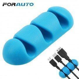 Car Wire Holder Silicone For Earphone Usb Cable Ca..