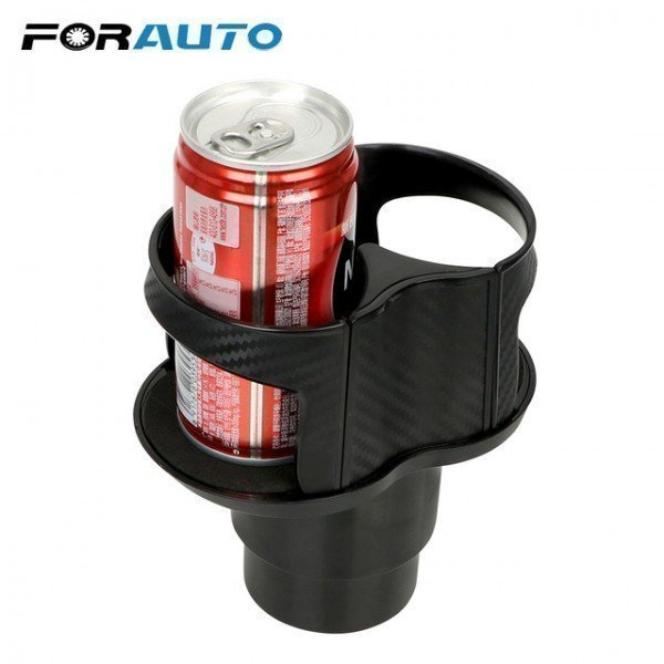 Car Seat Cup Holder Dual Hole Drink Bottle Rack Water Beverage Cup Stand Universal Drink Holder Car-Styling Forauto/hoodmat.com