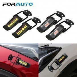 2 Pieces Car Bumper Security Hook Lock Clip Kit Fo..