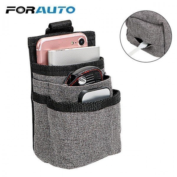Car Organizer Bag Storage Phone Pocket Oxford Hanging Holder Outlet Air Vent Stowing Tidying Interior Accessories Forauto/hoodmat.com
